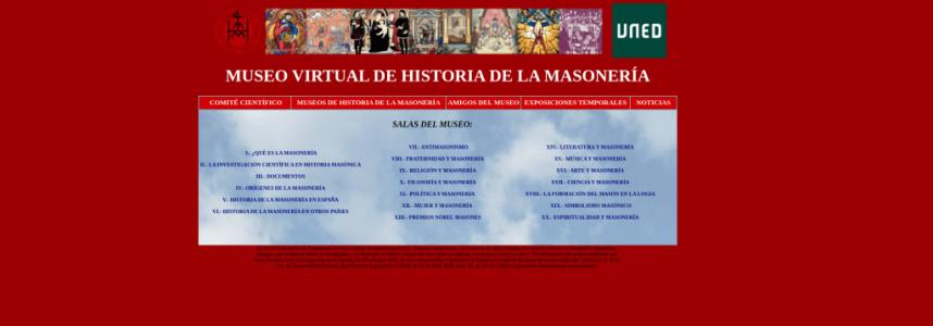 Museo Virtual Historia de la Masonería de la UNED