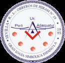 logotipo obreros del hiram